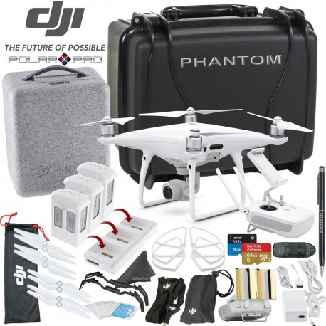DJI Phantom 4 PRO Quadcopter with Ultimate Bundle