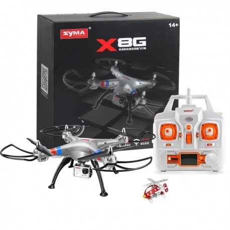 Syma X8G Headless 2.4Ghz 4CH RC Quadcopter 8MP HD Camera