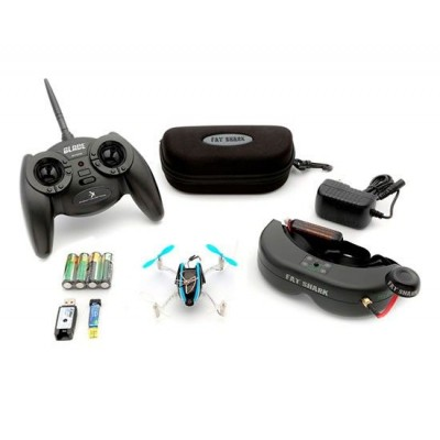 Blade Nano QX FPV 4CH 2.4GHz Drone plus extras
