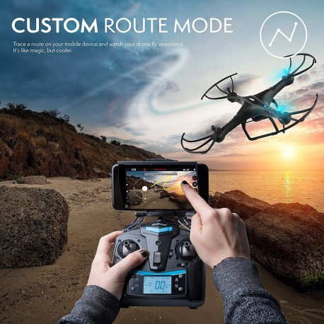 Force1 U45W Blue Jay Wi-Fi FPV Drone with HD Camera