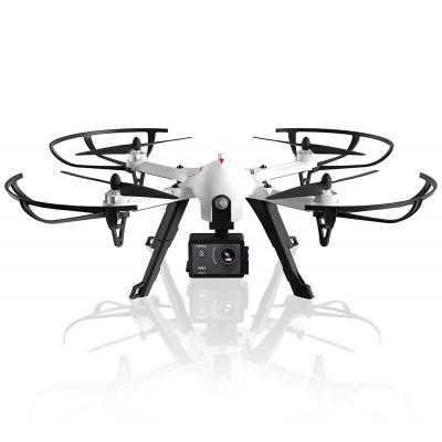 Force1 F100 Ghost Quadcopter Drone with 1080p HD Camera