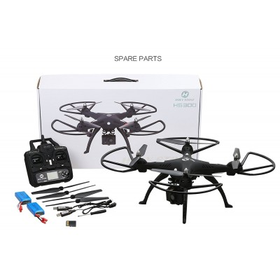 Holy Stone HS300 RC Quadcopter with 120° Wide-angle HD Camera