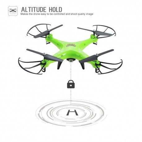 Holy Stone HS110 FPV RC Drone with Camera 720P HD Live Video WiFi 2.4GHz 4CH 6-Axis Gyro RC Quadcopter
